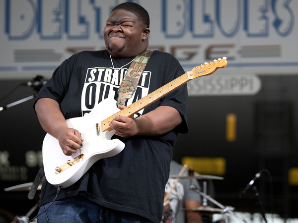 """Christone """"Kingfish"""" Ingram is a 22-year-old blues guitarist and singer, whose debut album, <em>Kingfish,</em> was a chart-topping success. His second studio album, <em>662</em>, is out July 23."""