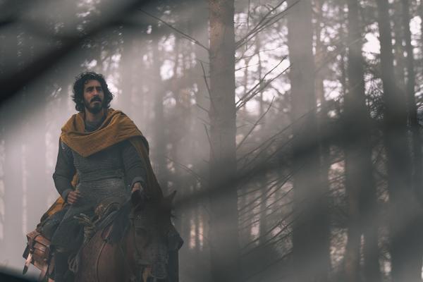 Dev Patel stars as Sir Gawain, King Arthur's nephew, in <em>The Green Knight.</em>