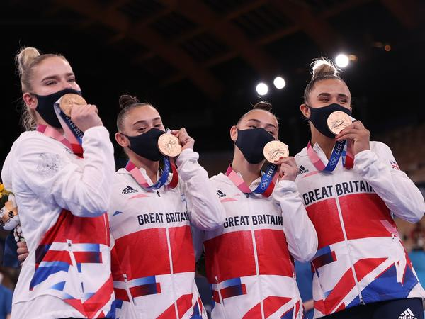 British gymnastics beat out Italy for the Olympic bronze on Tuesday, in a huge upset. The win represents the first team medal for Britain in the sport in nearly a century.