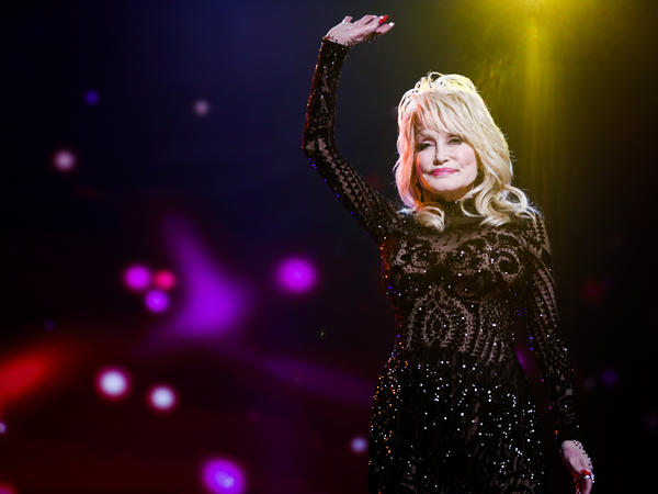 Dolly Parton attends MusiCares Person of the Year honoring her in 2019.