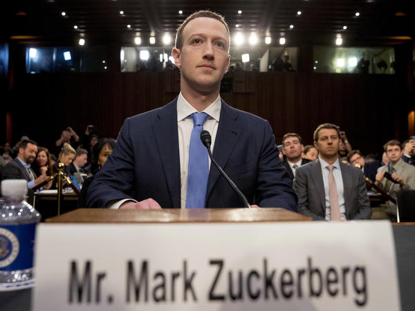 Facebook CEO Mark Zuckerberg arrives to testify before a joint hearing of the Commerce and Judiciary Committees on Capitol Hill in Washington in April 2018. In July 2020, Holocaust survivors around the world urged Facebook head Mark Zuckerberg to take action to remove denial of the Nazi genocide from the social media site.
