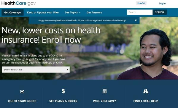 """A special open enrollment period on all Affordable Care Act marketplaces, including on the federal insurance exchange, <a href=""""https://www.healthcare.gov/"""" data-key=""""1338"""">HealthCare.gov</a>, runs until Aug. 15. Many people qualify for free or low-cost plans."""