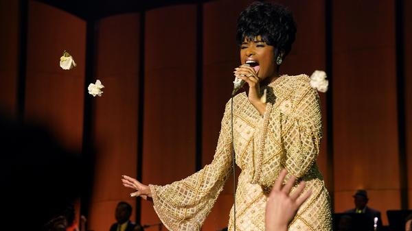 Jennifer Hudson doesn't try to mimic Aretha Franklin so much as channel her spirit. Franklin was heavily involved in the development of <em>Respect</em> up until her death in 2018, and she reportedly handpicked Hudson to star in it.
