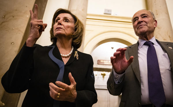 House Speaker Nancy Pelosi, D-Calif., and Senate Majority Leader Chuck Schumer, D-N.Y., are attempting to maneuver two spending bills through Congress.