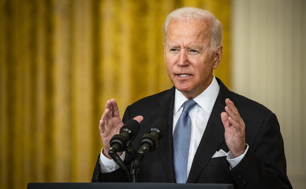 President Biden and his predecessor, former President Donald Trump, agree that American troops should leave Afghanistan.