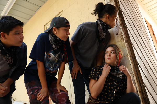 In the new show <em>Reservation</em> <em>Dogs, </em>four Native teens commit crimes to fund their efforts to leave their home in rural Oklahoma.
