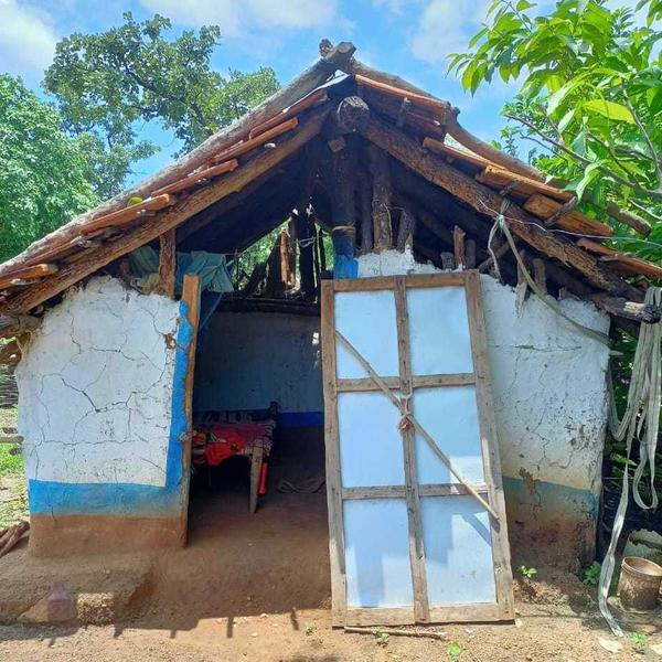 Menstrual exile is practiced in some villages in the western Indian state of Maharashtra, including where Chetana Madavi lives. Every month when she gets her period, the 29-year-old makes her way to this mud hut with no toilet and a broken door.
