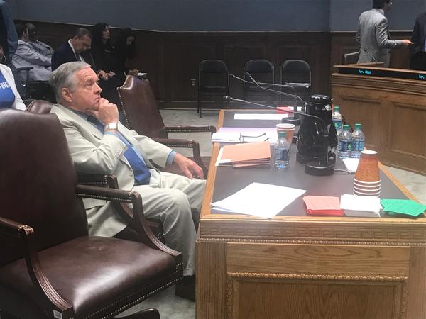 Senator Danny Martiny (R-Metairie) presented his bill to legalize sports betting to the House Criminal Justice committee May 21, 2019.