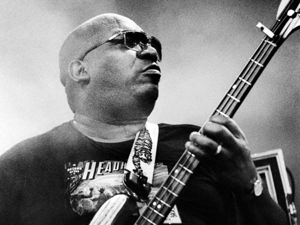 Paul Jackson performs with the Headhunters at the North Sea Jazz Festival in The Hague, The Netherlands, in 1998.