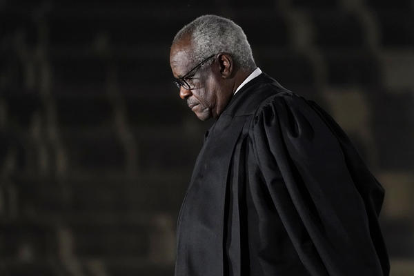 Supreme Court Justice Clarence Thomas issued a concurrence in a case over former President Donald Trump's Twitter account in which Thomas suggested that social media companies should be regulated like a common carrier, like a telephone company.