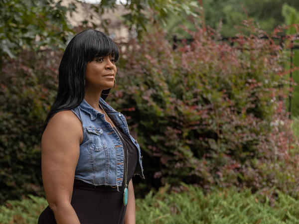 Safiya Kitwana lives in Lithonia, Ga., and is facing eviction. She lost work during the pandemic. She's a single mom with two teenage sons. But, at least in her case, things just took a turn for the better.