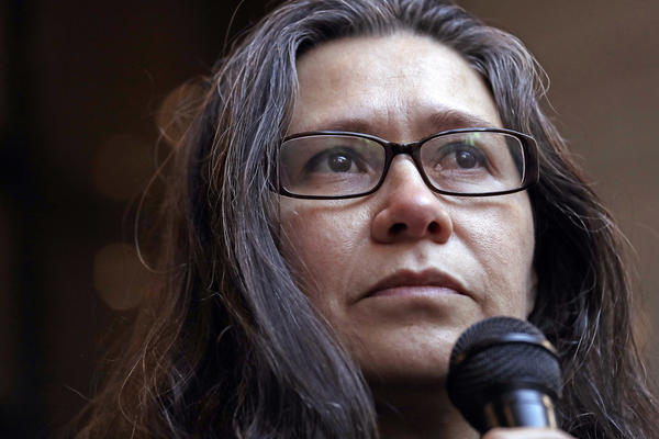 Longtime activist Maru Mora-Villalpando says ICE placed her in deportation proceedings in retaliation for her work.