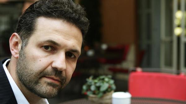 Afghan-born American novelist Khaled Hosseini, photographed in Rome in 2008.