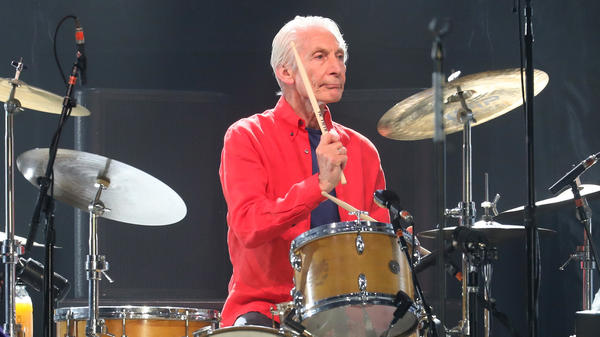Charlie Watts performs at MetLife Stadium in East Rutherford, N.J., with the Rolling Stones in 2019.