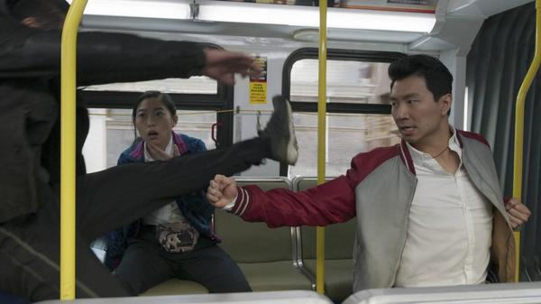 Simu Liu plays a young kung fu master who's hiding from his diabolical father in <em>Shang-Chi and the Legend of the Ten Rings.</em>