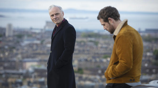 In the PBS Masterpiece series <em>Guilt</em>, Max (Mark Bonnar) and Jake (Jamie Sives) accidentally kill a man and then decide to cover up the crime. The series debuts Sept. 5.