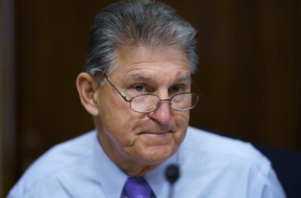 Sen. Joe Manchin, D-W.Va., has called on Democrats to pause the effort to push through a $3.5 trillion budget.