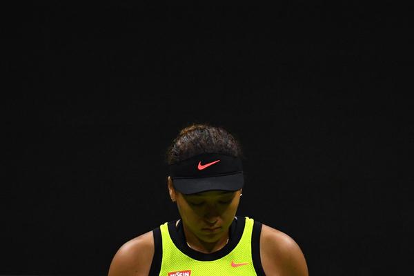 Naomi Osaka lost Friday night in a U.S. Open upset to Canada's Leylah Fernandez.