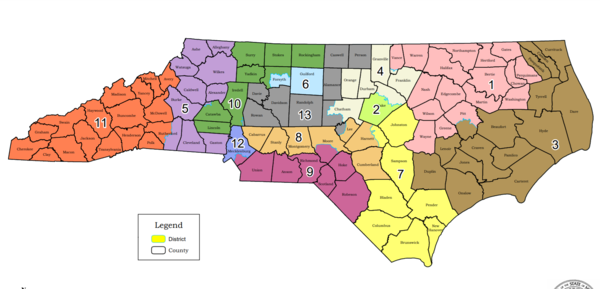 North Carolina will get a 14th congressional seat for the 2022 elections.