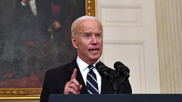 President Biden delivers remarks Thursday on his new plan to stop the spread of the delta variant and boost COVID-19 vaccinations.
