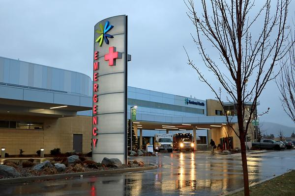 At the region's biggest hospital, Kootenai Health in Coeur d'Alene, 97% of COVID-19 patients are unvaccinated and all of the intensive care unit beds are filled.