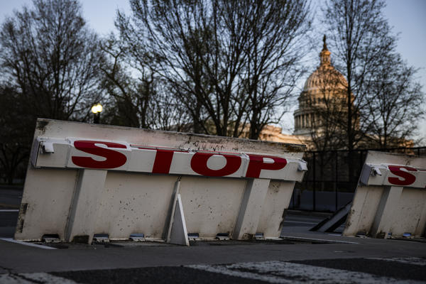 In the years after the 9/11 terror attacks, security became omnipresent in Washington, D.C. That includes bollards, Jersey barriers and security barricades like those seen here outside of the U.S. Capitol.