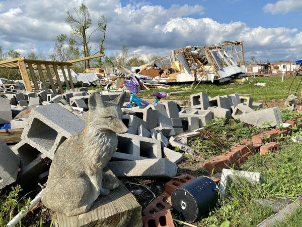 Hurricane Ida's unrelenting winds spared few structures when it blasted ashore on August 29 as a category 4 storm. Weeks later, clean-up is immense and, for many, power is still out.