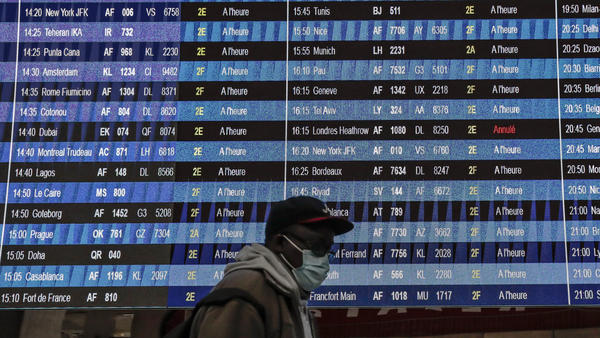 Vaccinated travelers will be allowed to fly to the U.S. starting in early November.
