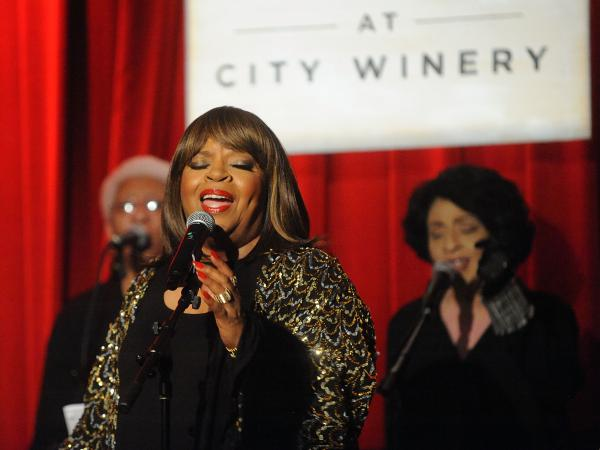Sarah Dash performs at A Tribute To Aretha Franklin at City Winery in 2018 in New York City.