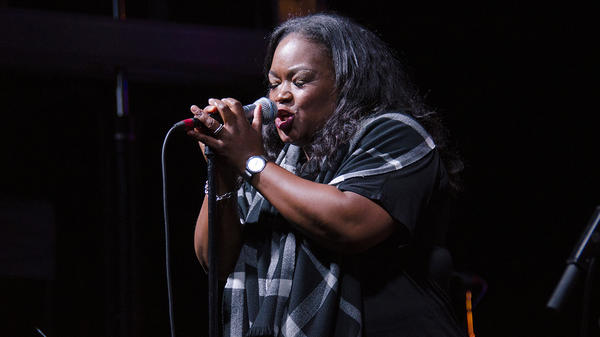Blues singer Shemekia Copeland performs live for <em>Mountain Stage</em> in Charleston, W.Va.