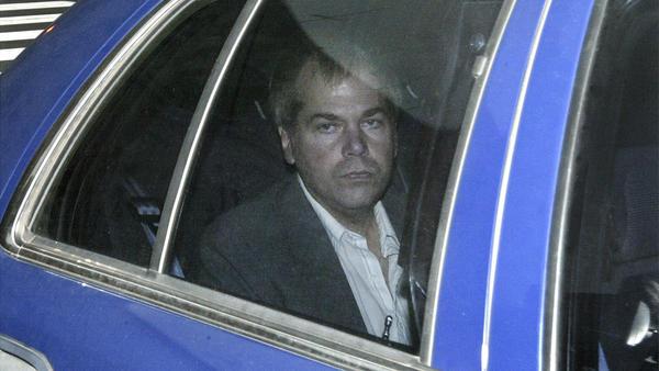 In November 2003, John Hinckley Jr. arrives at U.S. District Court in Washington, D.C. Starting in 2003, restrictions on Hinckley gradually lessened.