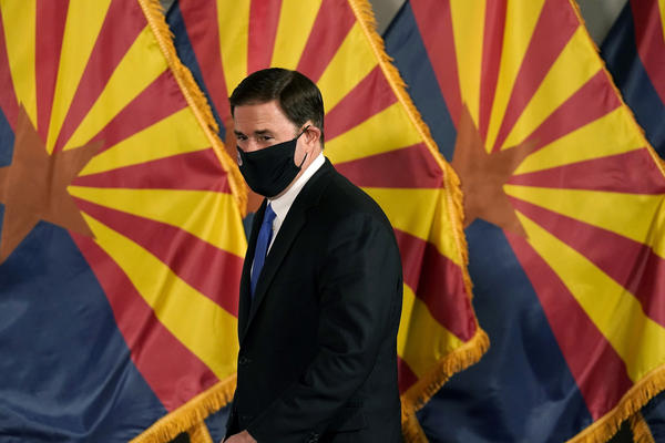 """A spokesperson for Arizona Republican Gov. Doug Ducey called the decision """"the result of a rogue judge interfering with the authority and processes of another branch of government."""""""