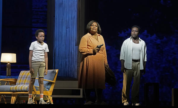 Terence Blanchard's <em>Fire Shut Up in My Bones</em>, based on a memoir by Charles M. Blow, is the first opera by a Black composer presented by the Metropolitan Opera in the New York institution's 138-year existence.