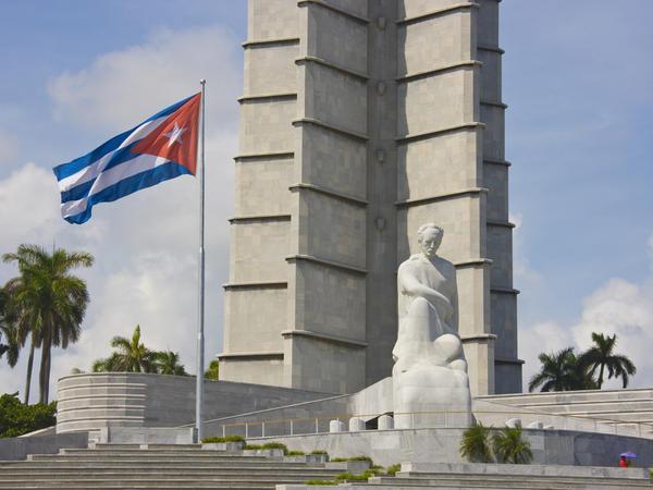 Memorial to poet José Martí in Old Havana