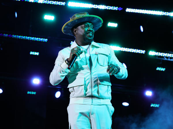 Anthony Hamilton performs on Sept. 16 in New York City. <em>Love Is The New Black</em> is his first full length album in five years.
