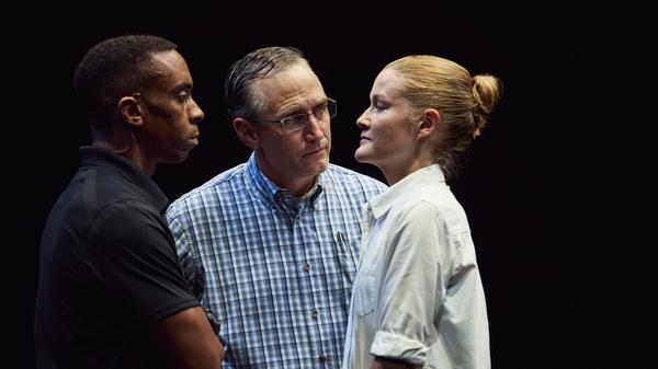 Will Cobbs and Pete Simpson play FBI agents interrogating Emily Davis's Reality Winner, in <em>Is This</em><em> a Room.</em>