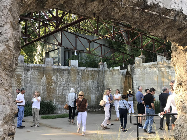 The Turtle Creek Water Works in Dallas, Texas, became a public space with native plantings and art installations.