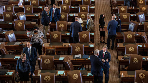 Texas lawmakers face a tight schedule as they consider a bill that would enshrine Gov. Greg Abbott's ban on vaccine mandates into state law. The legislature is currently in its third special session, which expires next week.