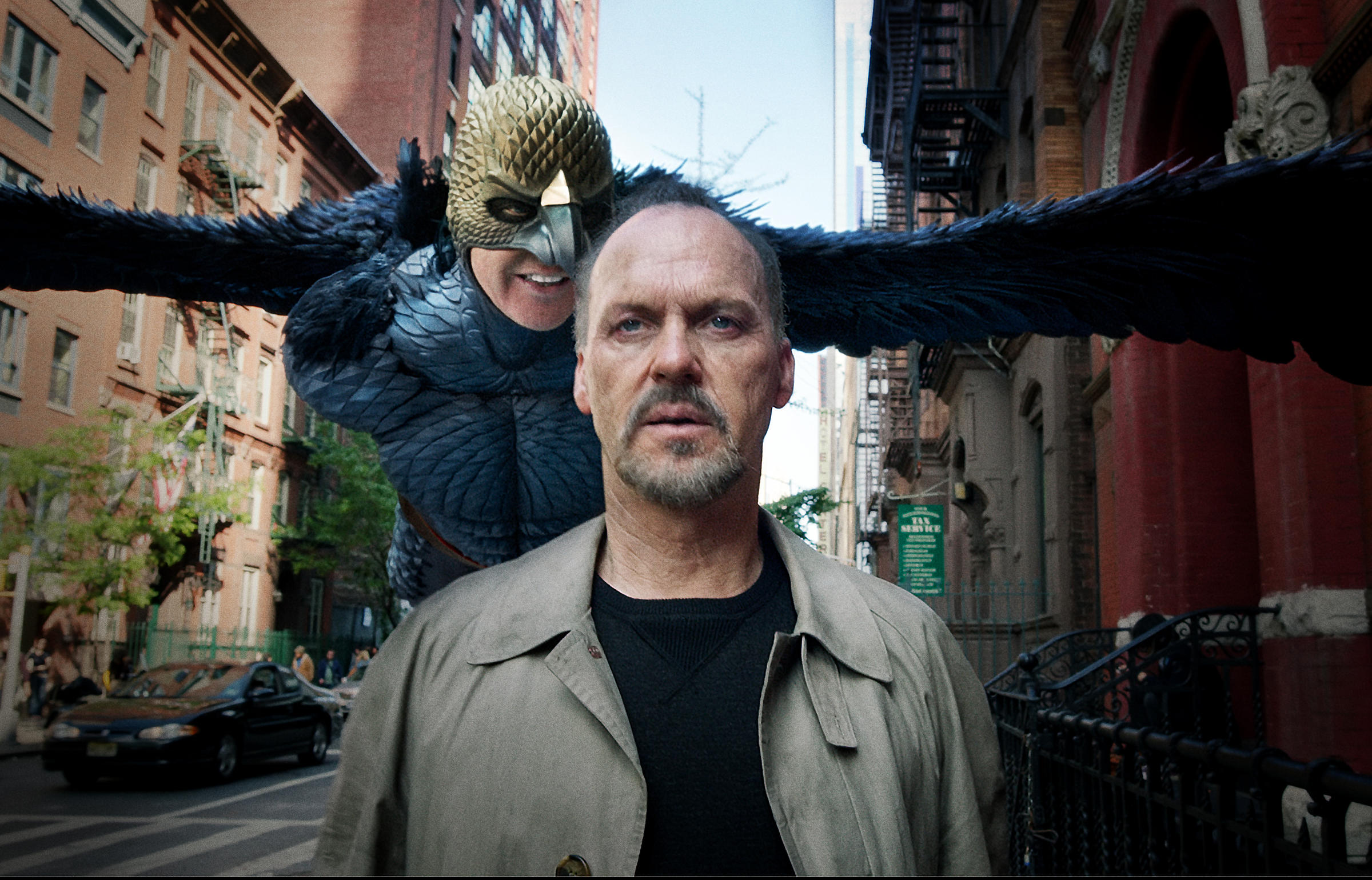 The result of the picture, for michael keaton, birdman