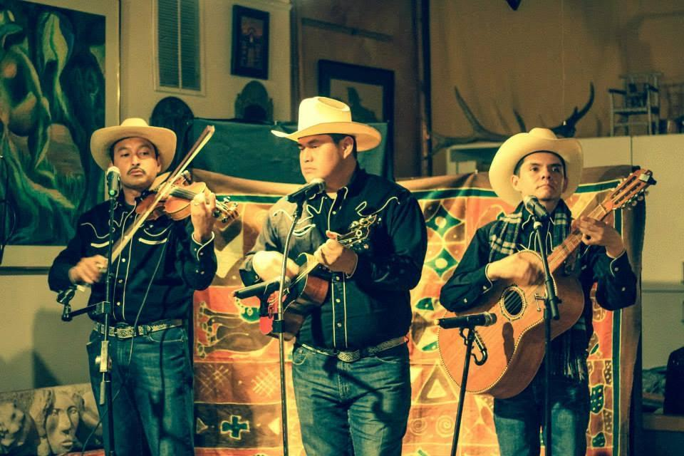 A small group of folk musicians from Illinois.