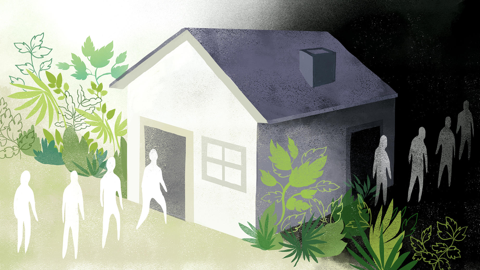 A Small Town Struggles With A Boom In Sober Living Homes Upr