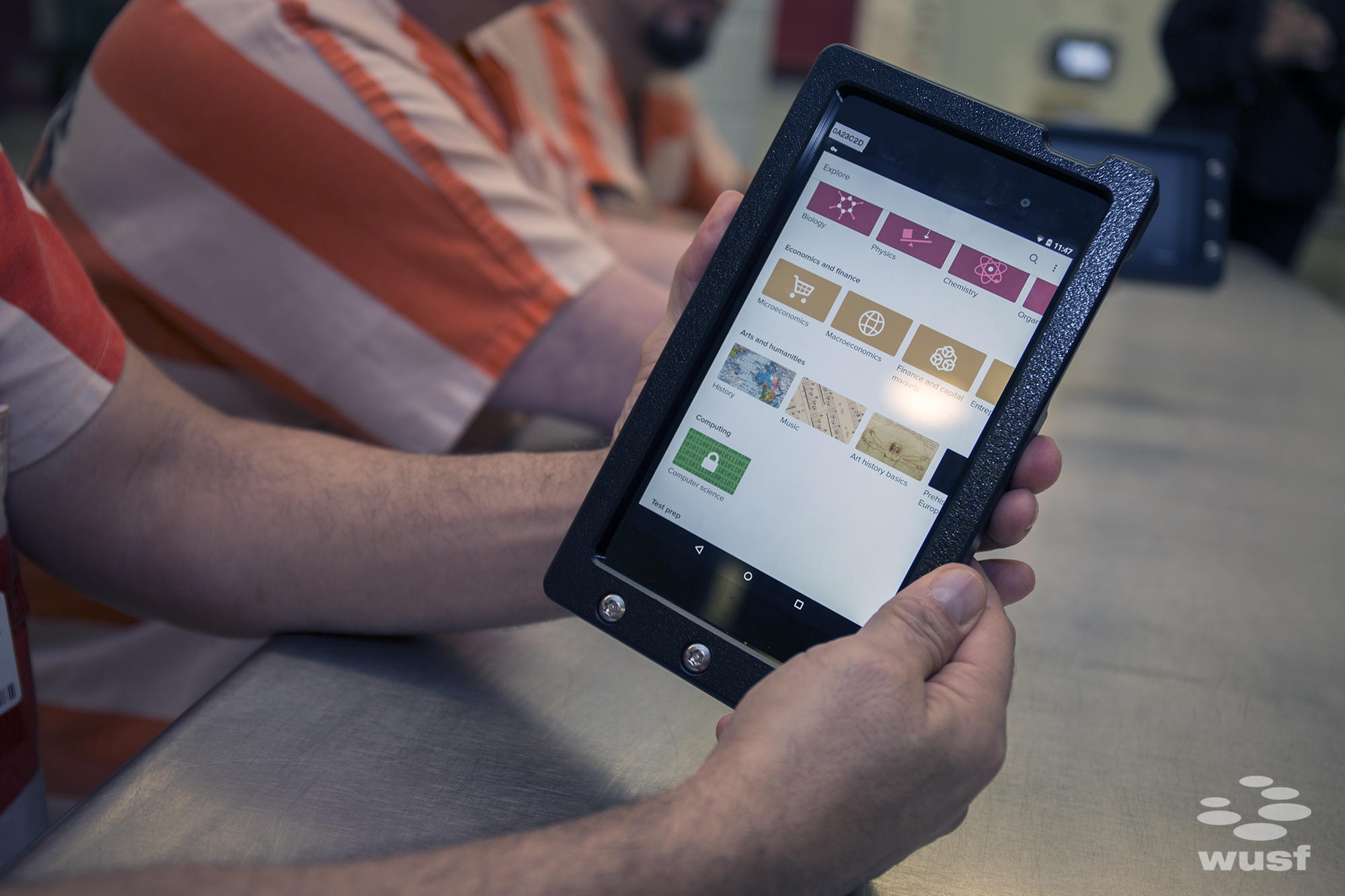 Pasco Inmates Get Tablet Access For Education, Mental Health