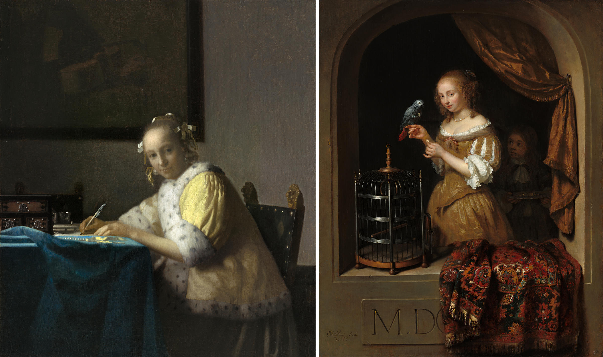 Dutch Artists Painted Their Patriotism With Pearls And Parrots