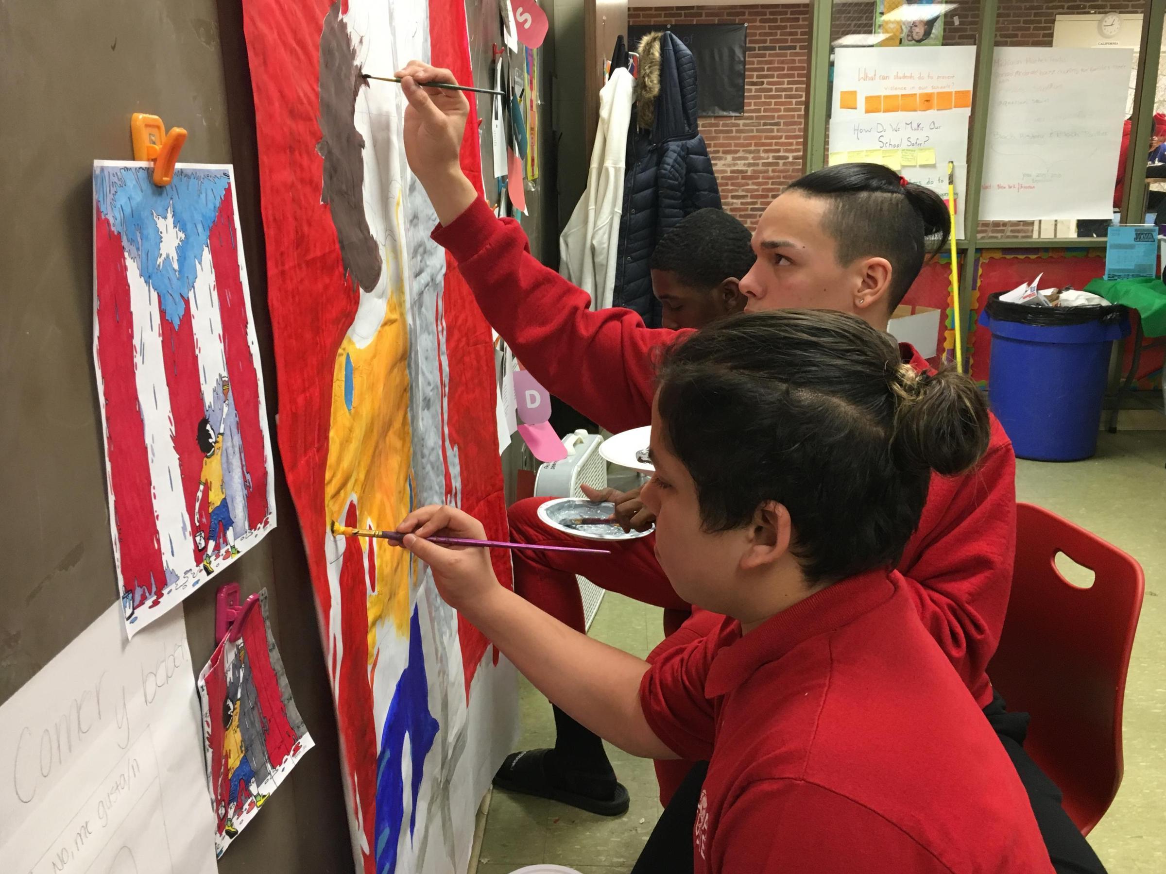 Spring Break Plans Cleveland Students Volunteer In Puerto
