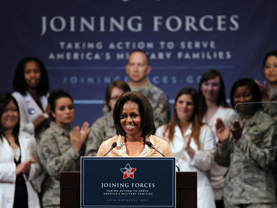 Michelle Obama: 'I Don't Have The Stressful Job  He Does' | KUNC