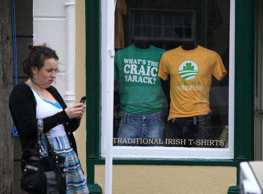 In Ireland, A Homecoming (Of Sorts) For Obama | KUNC
