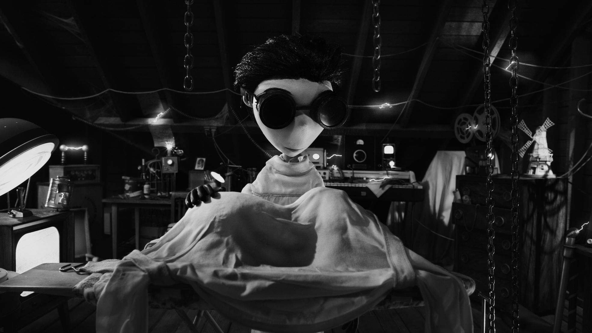 Frankenweenie Burton Revives A Morbid Favorite Wfae