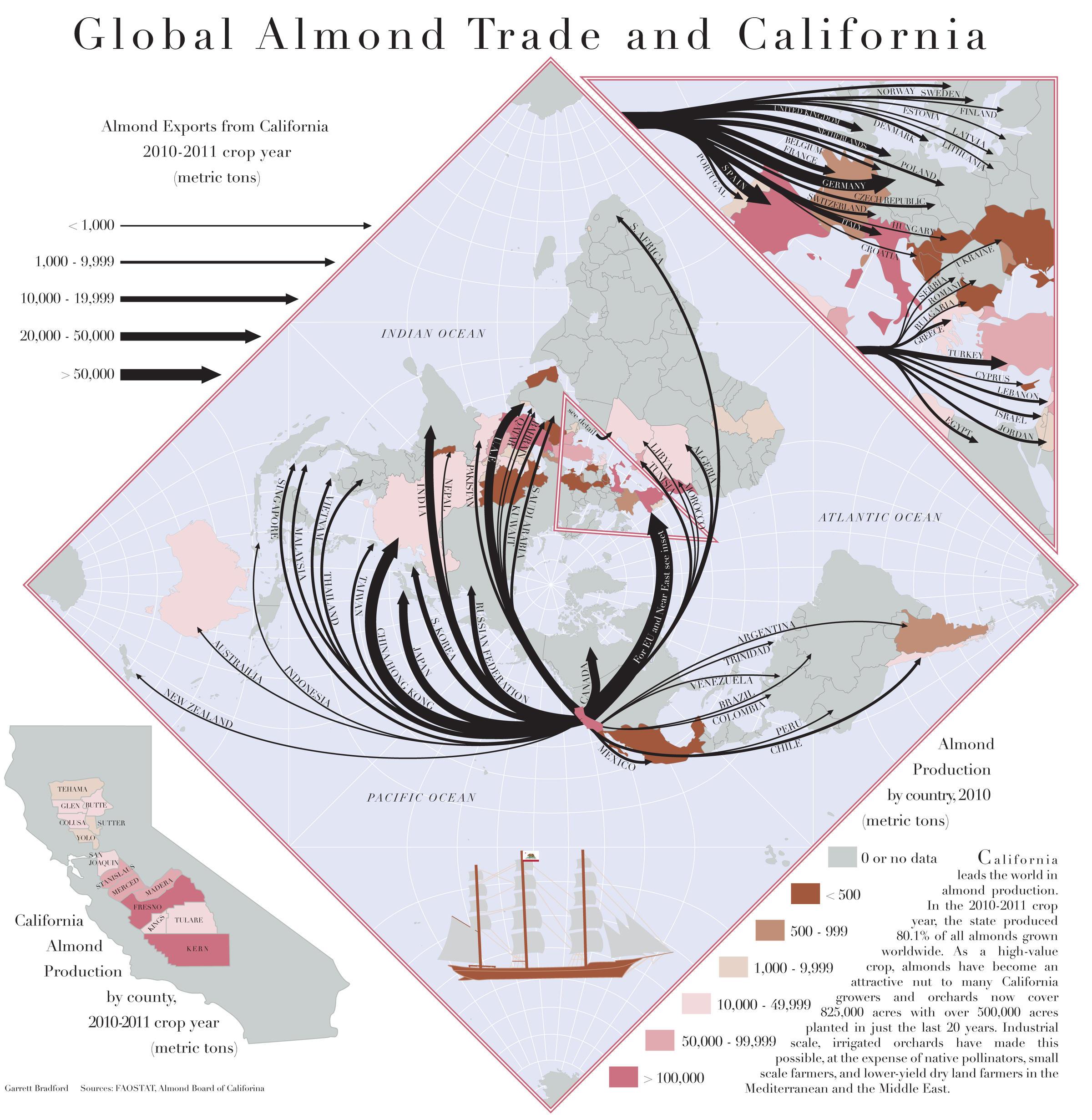 Guerrilla Cartographers Put Global Food Stats On The Map | WJSU