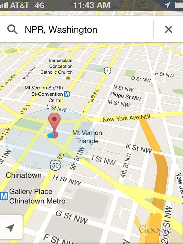 Good Tidings Of Great Joy: Google Maps App Released For ...