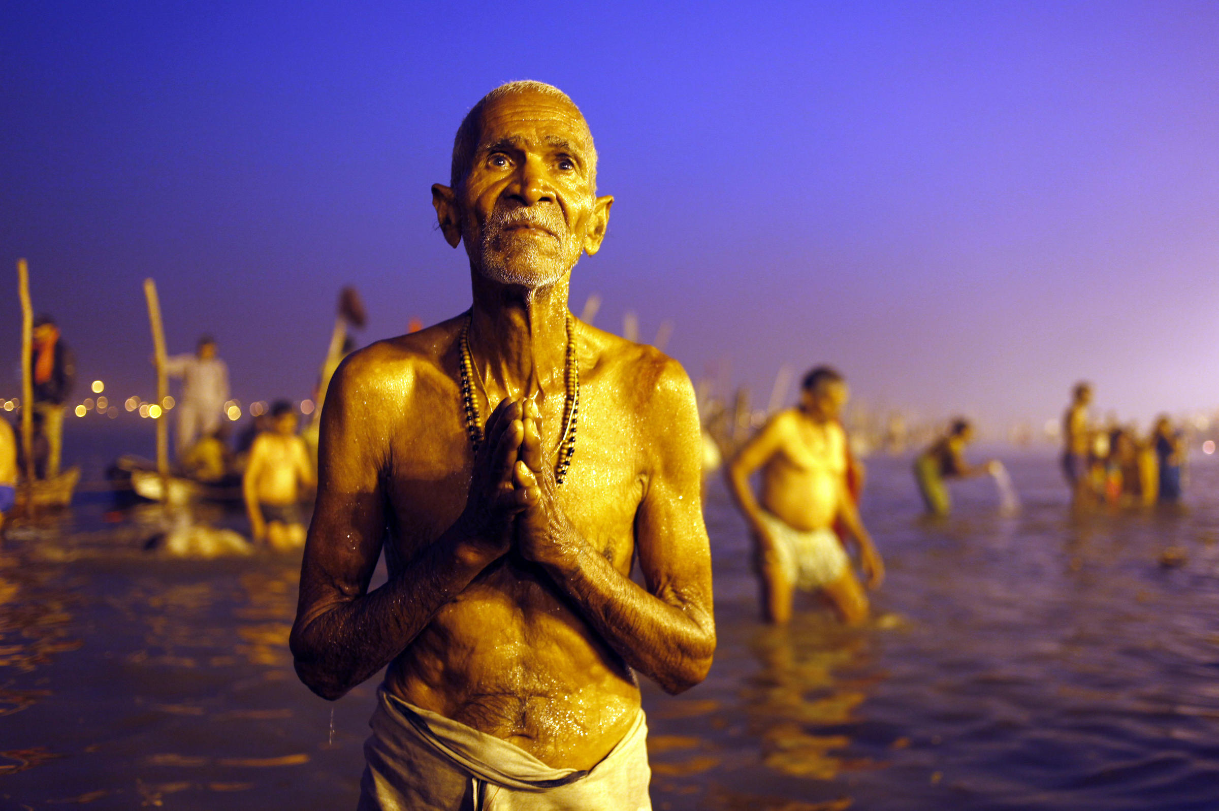 Seeking A Glimpse Of Immortality In The Waters Of India's Holy